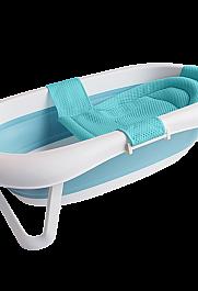 心婴美便携折叠浴盆,大号可坐可躺