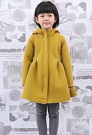 马拉丁女童连帽风衣外套