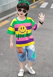 儿童短袖T恤,经典而又充满时尚气质