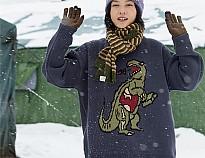 OctopusMe 卡通印花毛衣