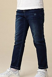 安奈儿男童牛仔长裤