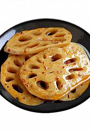 口水娃香辣藕片,精卤入味征服味蕾