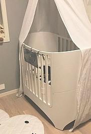 治愈系婴儿房布置,暖到心里去了