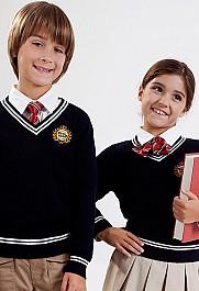 伊顿纪德儿童套头针织衫