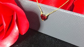 心形宝石项链~轻松捕获女孩子的芳心